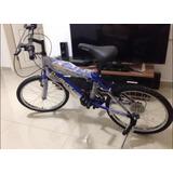 Bicicleta Tipo Montañera Rin 20 Azul