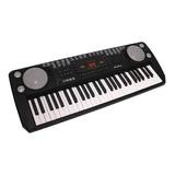 Piano Teclado Eléctrico Organo Multifuncional  80cm 54teclas