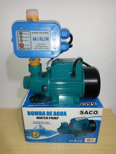 Bomba De Agua 1 2 Hp Pulmon Hidro Press Control Sensor
