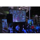Alquiler Pantallas Cinefold (tipo Cine) Y Proyectores -tvs