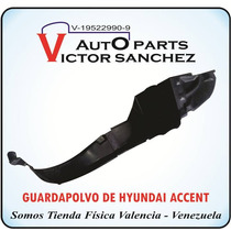 Guarda Polvo De Hyundai Accent