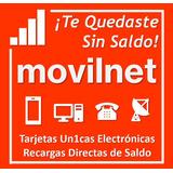 Recarga De Saldo Movilnet Movistar Digitel Directv Inter