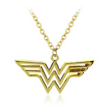 Collar Wonder Woman Mujer Maravilla Dije Regalo Comic Potter