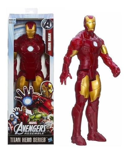Muñeco Iron Man Titan Hero Hasbro Original 30cm