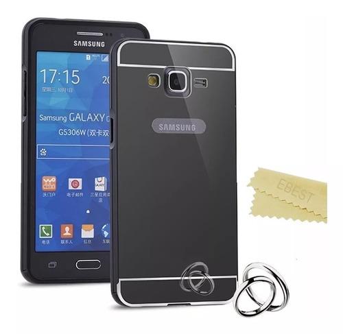 ea933e03682 Forro Samsung Galaxy Core Prime Protector Aluminio Espejo