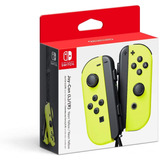 Nintendo Switch Control Joy Con L/r Neon Yellow Nuevo