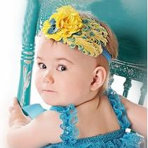 Bellos Cintillos Fantasia Para Bebes Y Niñas