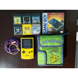 Gameboy Color Amarillo C/ Bolso, Juegos, Cleaning Kit Nuevo+