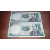Billete De Coleccion Conmemorativo 20 Bolivares 1987