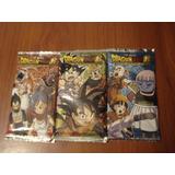 Juego De 8 Cartas Coleccionables De Dragon Ball Z Importadas