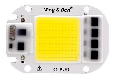 Chip Led 50w Plus Repuesto Smart Ic Luz Fria Directo 110v Ac