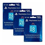 Playstation Store Tarjeta