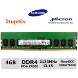 Memoria Ram 4gb Ddr4 2133mhz Dimm Para Pc Nuevas