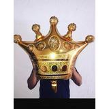 Globo Metalizados De Corona Rey Reina Gigante