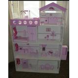 Casa De Muñeca Barbie Con Ascensor 100% Garantizadas