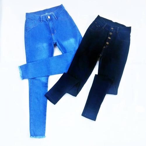4abdf3125b Pantalones Jeans Corte Alto Damas Talla Ss S M L Xl