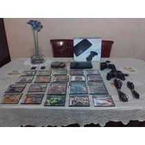 Playstation 2 Impecable Con Todos Sus Accesorios Y Juegos