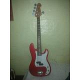 Vendo Bajo Electrico Fretmaster 5 Cuerdas + Fender Rumble 15