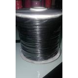 Hilo Piel De Serpiente  1mm 92 Metros Varios Colores Negro