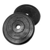 Disco Regular De Goma 2.5kg Harbinger Sport