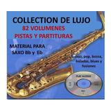 Colección De Lujo Para Tocar Saxofón