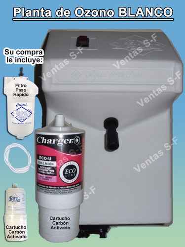 Planta ozono sani salud filtro de agua cartucho bs f - Filtro de agua precio ...