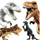 Dinosaurio Para Armar Jurassic World T-rex Vs Indominus Rex