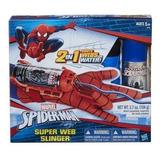 Spiderman Lanza Telarañas Hombre Araña Guante Cartucho Orig