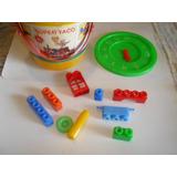 Tobo De Legos Super Taco 53 Piezas Juego Didactico Creativo