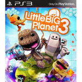 Little Big Planet 3 Playstation 3 Digital Entrega Inmediata
