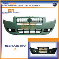 Parachoque Delantero Fiat Palio Fase Ill 2008 En Adelante