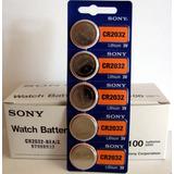 Pila Batería Cr2032 Sony Blister De 5 Unid Vencimiento 2027