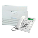 Central Telefonica Digital Panasonic Kx-ta824 Con Telefono