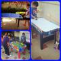 Mesas Didacticas Futbolito Ping Pong Hockey Canchas Nerf