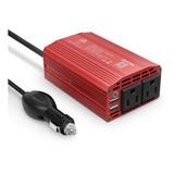 Inversor De Corriente Convertidor Voltaje 12 A 110v 300w