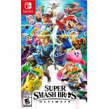 Juego Físico Súper Smash Bros Nintendo Switch Nuevos