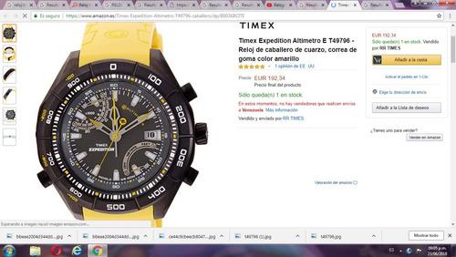 79bdd1c5d42d Reloj Timex Expedition Altimetro