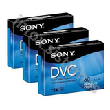 Cassette Video Digital Sony Dvc Sony 60 Min Lp 90 Mini Dv
