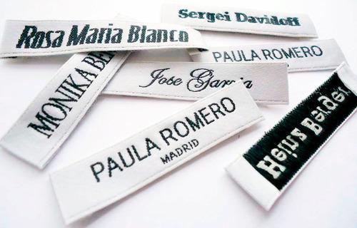 Etiquetas Tejidas Para Ropa Calzado Marquillas Woven Labels. Clasificado.  Ver más Ver en MercadoLibre 7eeff0baf1d6a