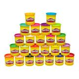 Play Doh Plastilina Pack De 2 Pote De 3 0z Colores Variados