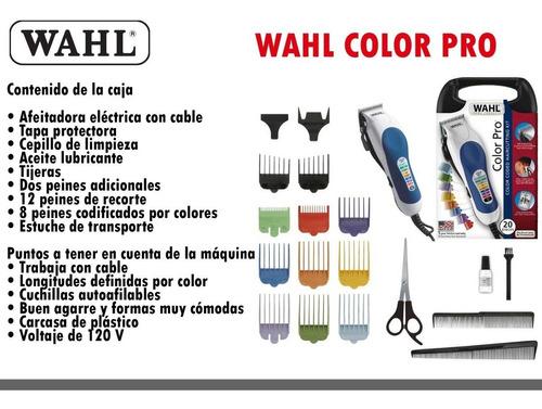e41642d13da Máquina De Cortar Cabello Wahl Color Pro Original Sellada