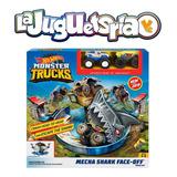 Hot Wheels Monster Trucks Mecha Shark 40green