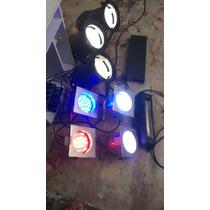 Vendo Luces Led Y De Tarima Para Minitek Sp4 De 2000wat