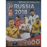Venta De Barajitas Album Russia 2018 Nacional (no Panini)