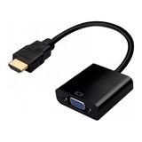 Convertidor Hdmi A Vga Monitor Laptop Ps3 Ps4 Xbox Mtech