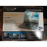 Dvd Portatil Initial 8.5 Lcd Tv Carro Sd Usb Cable Cambio
