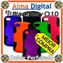 Forro Doble Perforado Blackberry Q10 Estuche Funda Carcasa
