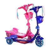 Monopatin Con Luz Y Sonido Cars Frozen Princesas Spiderman