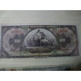Billete Banca Privada Banco De Venezuela