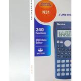 Calculadora Científica Bernice 240 Funciones Mayor Y Detal